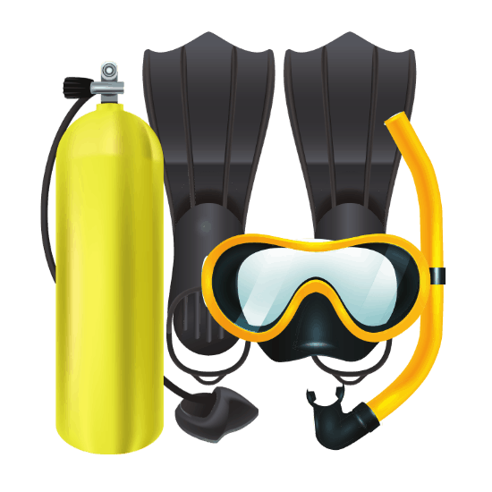 Scuba Diving Set